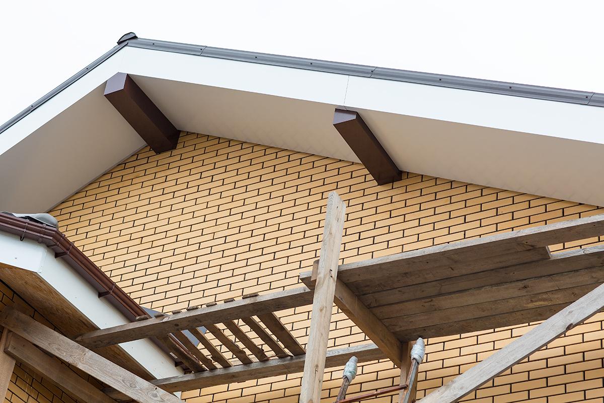 Софиты для крыши: виниловые, металлические, алюминиевые, пла.